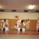 Rollen und Fallen, das A und O im Judo.