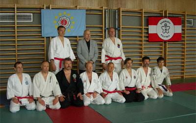 Gruppenfoto EJJU Jiustage Wien 2006