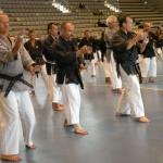 Volle Konzentration bei der Tekko Kata