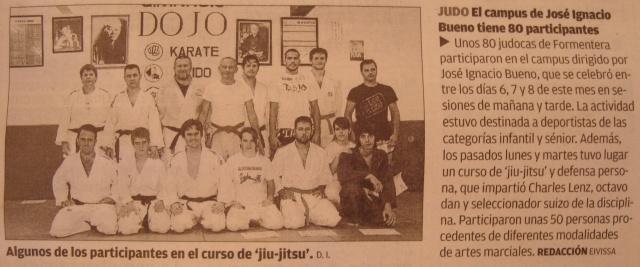 Diario de Ibiza Artikel zum Training in Formentera