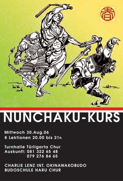 Bodoharu Nunchaku-Kurs