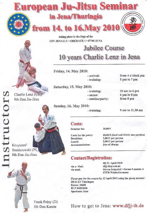European Ju-Jitsu Seminar