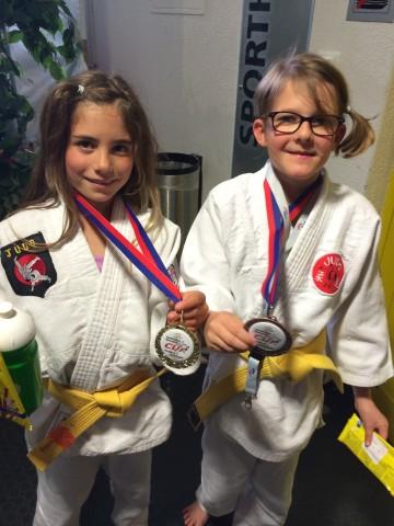 Mercedes Ritter, Gold und Julia Guadagini, Bronze